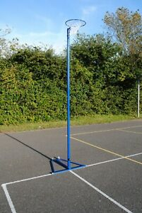 Freestanding Netball Posts - Regulation Standard - Great for schools or at home!