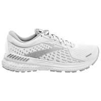 BROOKS ADRENALINE GTS 21 WOMENS RUNNING SHOES Sneaker White Grey Silver 5-12 NEW