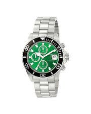 Runde Invicta Quarz - (Batterie) Armbanduhren aus Edelstahl