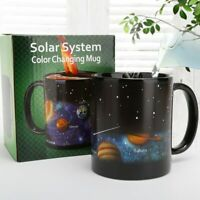 MAGIC COLOR Changing Ceramic Tea Coffee Mugs Cup Heat Sensitive Ceramic Mug Gift