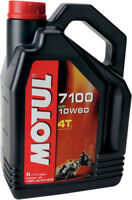 Motul 7100 Synthetic Oil 10W-60 4-Liter, #102191 / 104101 4 liters 10W60 82-2055