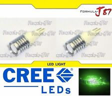 LED Light 5W 921 Green Two Bulbs Back Up Reverse Replacement Lamp OE Show Use