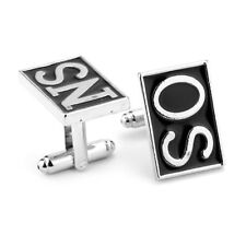 Sons of Anarchy SO & NS Stainless Steel Cufflinks