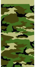 MILITARY CAMOUFLAGE PLASTIC TABLE COVER ~ Birthday Party Supplies Decorations