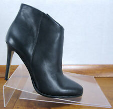 c9ce61d46b9 Vince Camuto Lorenza Black Leather Heels Ankle Booties Boots Womens Size 10  M