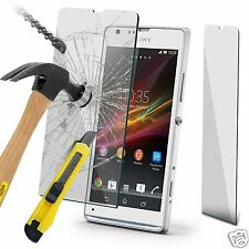 100% Genuine Tempered Glass Film Screen Protector for Sony Xperia SP