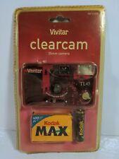 VTG 35mm Vivitar TL45 Wide Angle Lens Clear Translucent Camera Clearcam!!