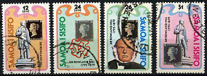 Samoa 1979 SG#551-4 Sir Rowland Hill Used Set #D47079