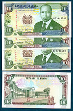 KENYA-  1994  TEN SHILLINGI    -  VERY NICE UNC