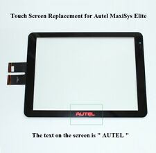 New Touch Screen Panel Digitizer Replacement for Autel MaxiSys Elite Scanner
