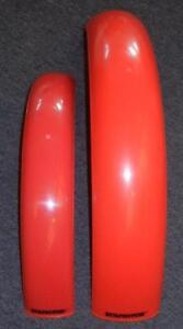 Universal plastic fender set Trials MX Enduro StilMotor SXP A243 A253 RED
