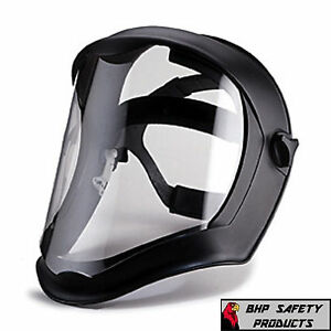 UVEX BIONIC S8510 SAFETY FACE SHIELD CLEAR ANTI-FOG POLYCARBONATE GRINDING Z87.1