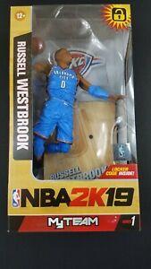 RUSSELL WESTBROOK Oklahoma City Thunder ~ Series 1 ~ NBA2K19 ~ McFarlane Toys