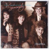 Forester Sisters - Sincerely (1988) [SEALED] Vinyl LP • Letter Home