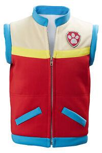 Captain Ryder Cosplay Costume Kids Vest Children Waistcoat Vest Only Gift
