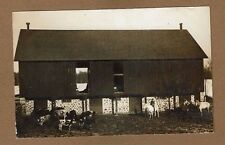RPPC Marion?,Waupaca County,WI Wisconsin Large Farm Barn, Cows and Horses