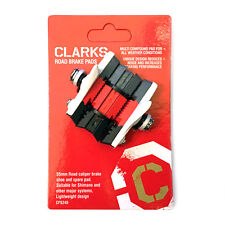 2 X Clarks CPS240 Elite Multi Compound Road Bike Brake Blocks 4 Shimano SRAM