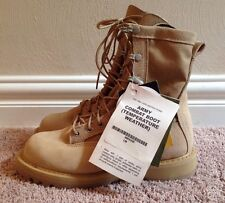 NWT ROCKY 790G MILITARY COMBAT BOOTS, DESERT TAN, GORE-TEX, MENS SIZE 6 XW