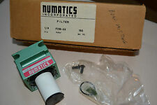 "NUMATICS AIR PREPARATION FILTER NFM 1/4"" F21B 02 NIB 150PSI MISSING BOWL"