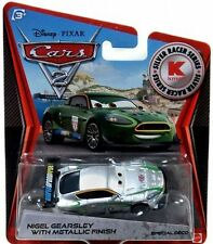 Disney Pixar Cars 2 Die Cast Metallic Finish Nigel Gearsly Deco 1:55 scale NEW