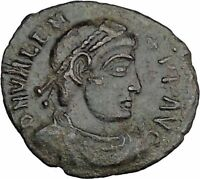 "VALENS ""Last True Roman"" 364AD Ancient Roman Coin Victory Cult  Angel  i37532"