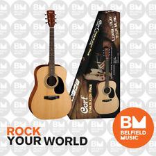 Cort CAP810 Acoustic Guitar Trailblazer Pack Natural Satin Gig Bag Picks & DVD