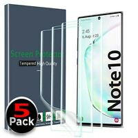 For Samsung Galaxy Note 10/10+ Plus 5G Full Cover Protective Screen Protector HD