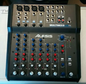 Alesis MultiMix 8 USB FX - 8 Channel USB mixer with built in effects
