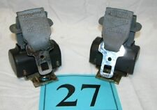82-88 Camaro Firebird Medium Gray Rear Seat Belt Retractors  GREAT PAIR