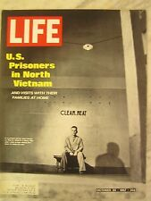 LIFE Oct 20 1967  US POWs in N Vietnam, E Sullivan, Middle East history, Mathias