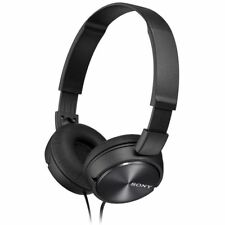 Sony MDRZX310 Foldable Standard Headphones - Metallic Black