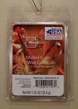 LOT OF 4 MAINSTAYS MULLED CIDER SCENTED WAX CUBES PACKS 24 CUBES! FREE SHIPPING!