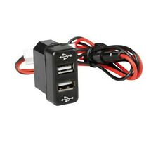 Recessed Outlet Double/Dual USB Charger Truck MAN TGA TGM TGL OEM fit 12/24V