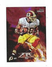 2014 Topps Fire Purple #31 Pierre Garcon Redskins /499