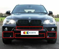 BMW NEW GENUINE X5 E70 2007-2010 M SPORT FRONT BUMPER GRILL SET OF 4 PIECES