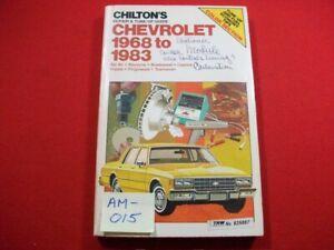 1968-1983 CHEVROLET FULL-SIZE CAR MODELS - REPAIR, MAINTENANCE & TUNE-UP MANUAL