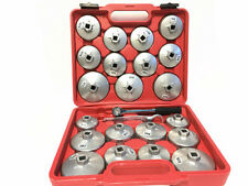 23 PC ALUMINUM HEAVY DUTY OIL FILTER CUP WRENCH SET -Brand New