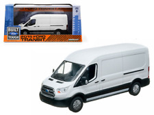 Greenlight 1/43 Scale 86039 2015 Ford Transit Van in White Diecast Model Car