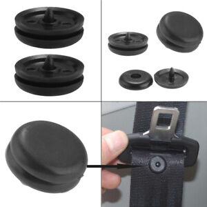 5x Car Safety Seat Belt Buckle Holder Fastener Clips Stopper Button Accessories