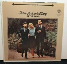 PETER PAUL & MARY IN THE WIND (VG+) WS-1507 LP VINYL RECORD