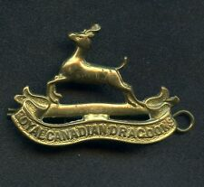 WW2 Royal Canadian Dragoons Cap Badge 47 mm x 35 mm