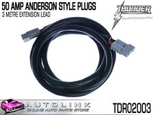 THUNDER 50 AMP ANDERSON STYLE PLUGS - 3 METRE EXTENSION TDR02003