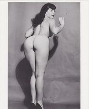 Bettie Page Hot Glossy Photo No7