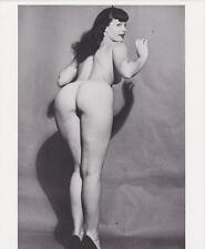 Bettie Page Hot brillante de la foto No7