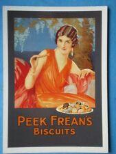 POSTCARD  PEEK FREAN'S BISCUITS