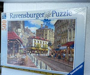 "Ravensburger Puzzle ~500 Piece W/Soft Click Technology ~19 1/3"" × 14 1/4""~Sealed"