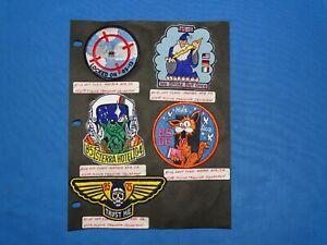 USAF / USN Training FTS Squadron Patch Lot (#22)