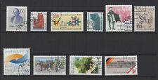 1990 Allemagne Berlin 10 timbres oblitérés /T2262