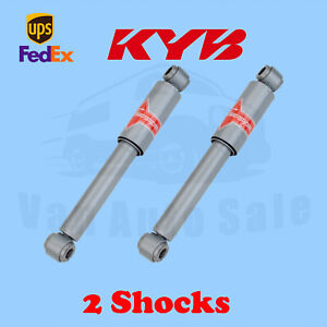KYB Rear Gas-A-Just Monotube Shocks for Nissan Xterra 2000-2004 Kit 2