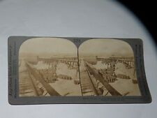 STEREOVIEW CARD KEYSTONE NITRATE FOR AGRICULTURE AND FOR WAR CHILE S0 AM